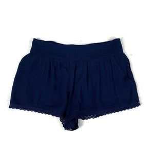 Forever 21 Shorts Rayon Smocked Back Waist Nwt